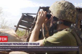 За участю координатора ОБСЄ на Сході проведуть інспектування українських позицій