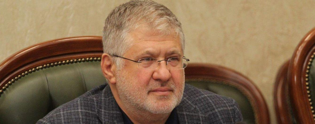 """Коломойский заявляет, что медиахолдинг """"УМХ"""" Курченко хотят отдать в управление компании, которая связана с самим олигархом-беглецом"""