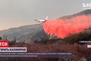 Вогняна катастрофа у Каліфорнії: 38 мільйонів людей попереджають про можливу евакуацію