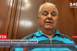 Кравчук ексклюзивно розповів подробиці інспектування позицій українських військових в районі селища Шуми