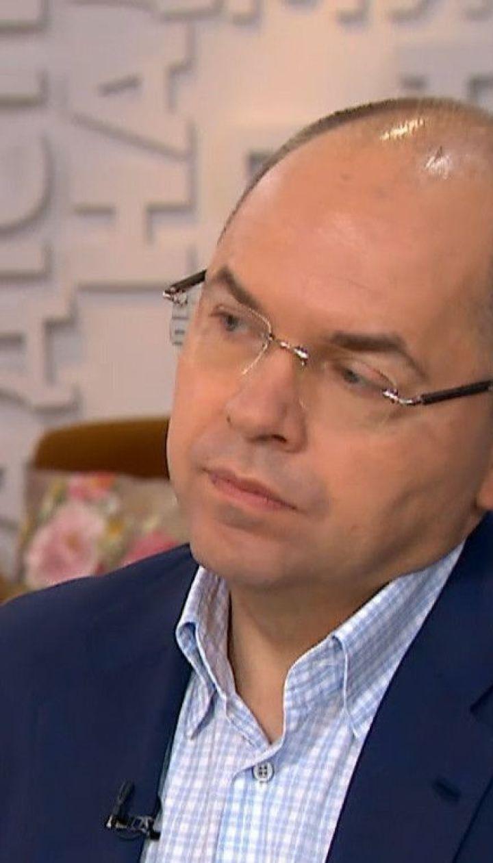 Степанов призвал украицев не откладывать прививки для детей