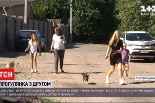 В Кировоградской области приют для животных учит детей ухаживать за четвероногими