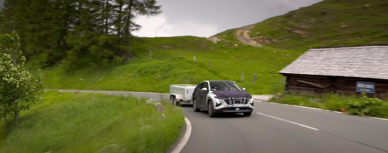 Новий Hyundai Tucson жорстко випробували перед прем'єрою: відео
