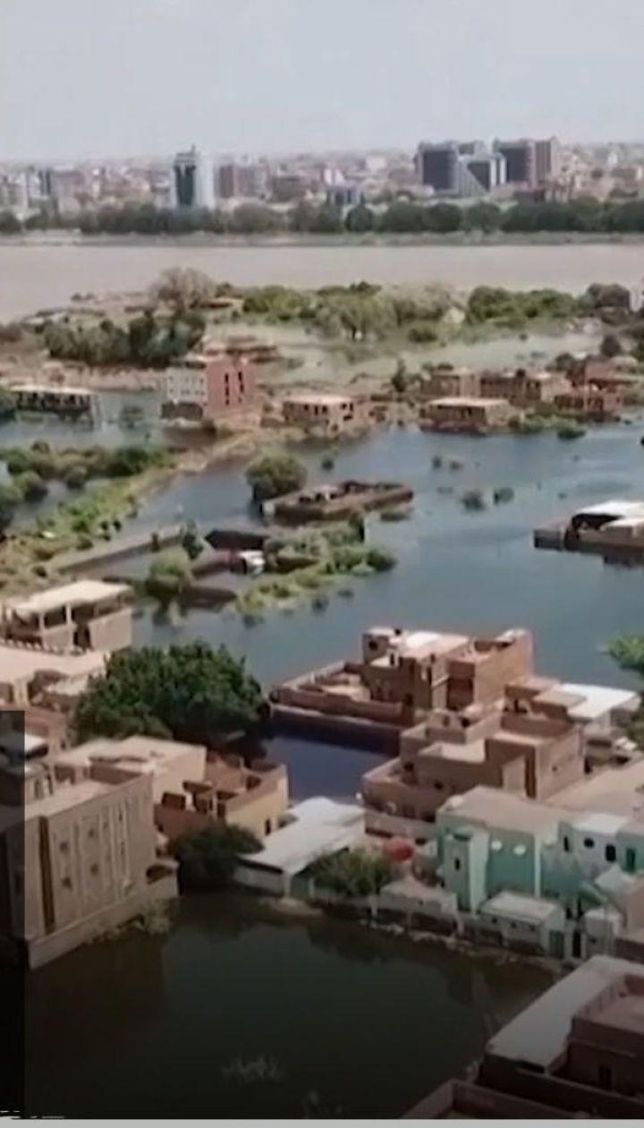 Главный эпицентр природного катаклизма: потоп в Судане – Секретные материалы
