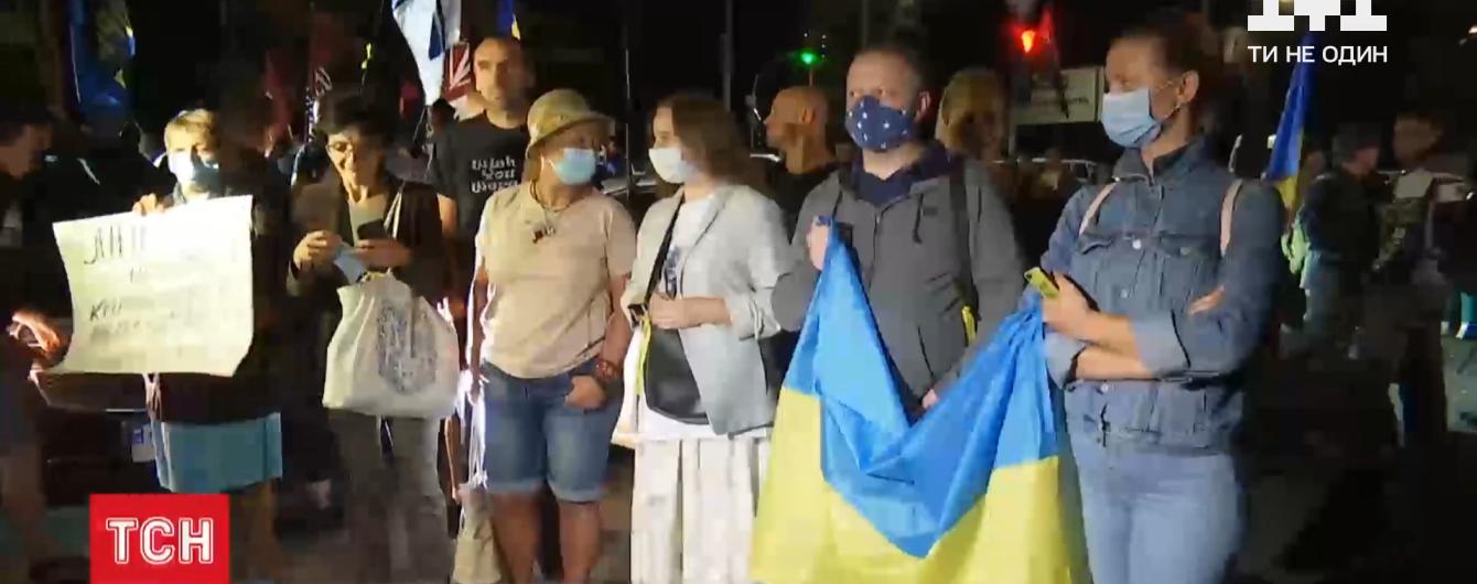 Инспекция украинских позиций боевиками: в городах Украины прошли акции протеста