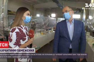 Центральный рынок Чернигова без предупреждения посетил Максим Степанов с инспекцией