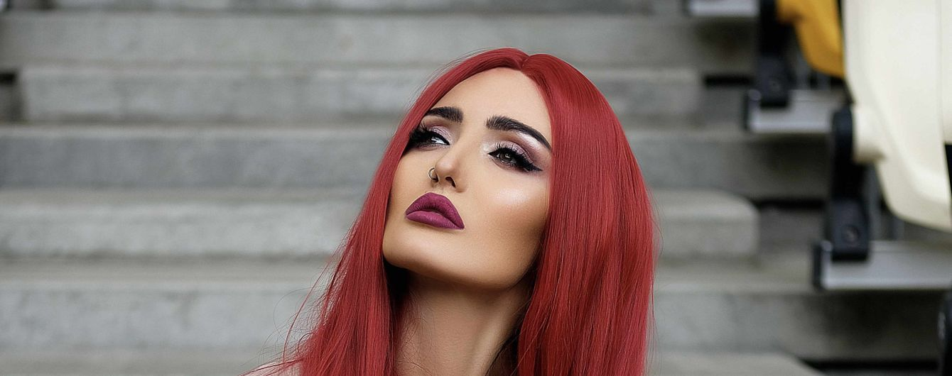 Анна Добрыднева с красными волосами записала чувственный саундтрек для нового сериала