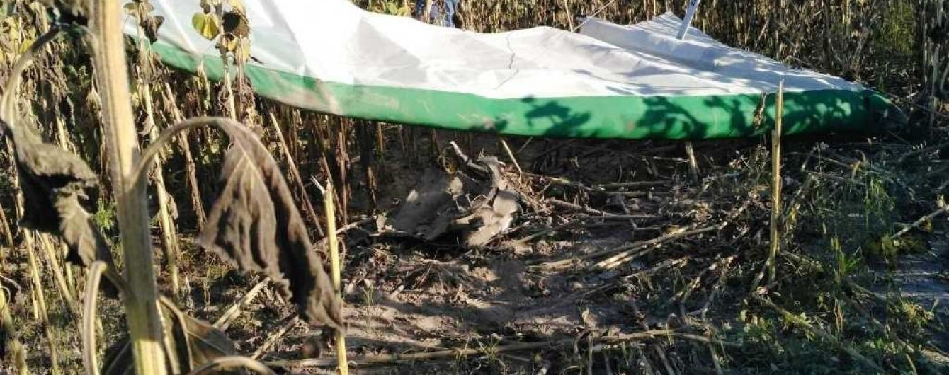 У Житомирській області розбився дельтаплан