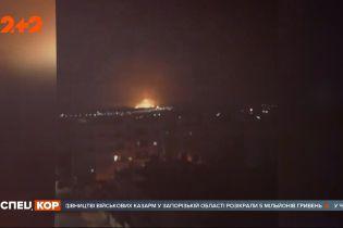 Пожежа на Близькому Сході: одразу кілька потужних вибухів сталися на складі боєприпасів у Йорданії