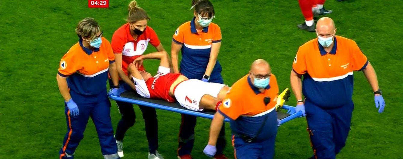 Во Франции футболистка чуть не снесла голову сопернице приемом кунг-фу (видео)