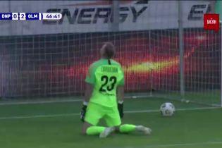 Дніпро-1 - Олімпік - 0:2. Відео голу Тейшейри