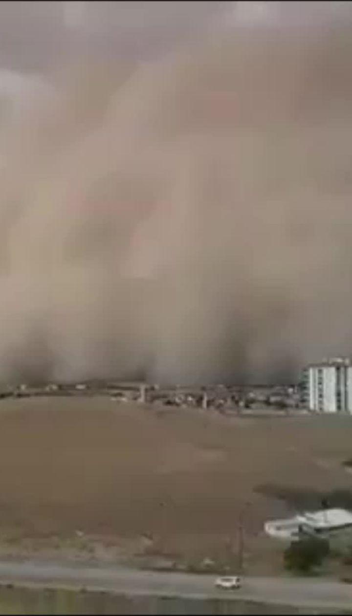 Столицю Туреччини накрила пилова буря