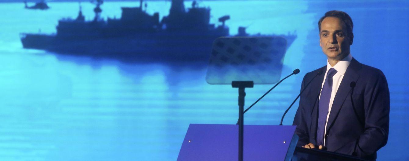 На фоне спора за морские газовые месторождения Греция вооружается в ответ на действия Турции