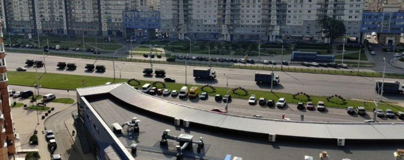 В Минск стягивают военную технику перед началом акции протеста