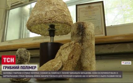 Херсонські науковці створили пластик з грибів: чим унікальний матеріал