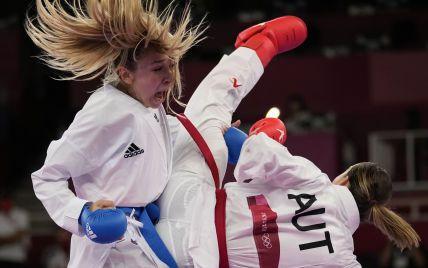 Гарантировала медаль: украинская каратистка Терлюга вышла в полуфинал Олимпиады-2020