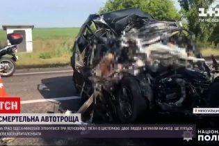 Новости Украины: в Николаевской области произошло смертельное ДТП на трассе в направлении Одессы