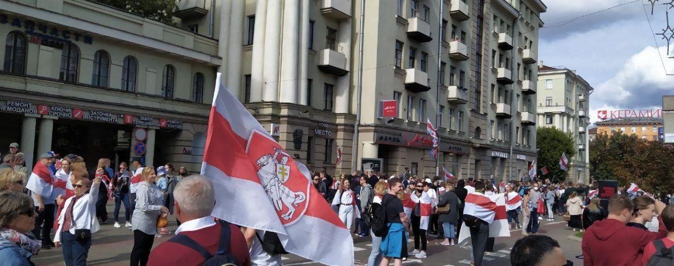 В Беларуси на акциях протеста задержали нескольких журналистов