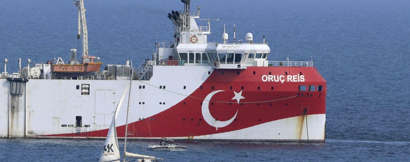 Морской конфликт Турции и Греции: Анкара вывела свое противоречивое судно из восточного Средиземноморья