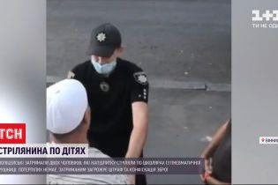 Две тысячи гривен штрафа заплатят мужчины, которые со своего балкона стреляли по детям