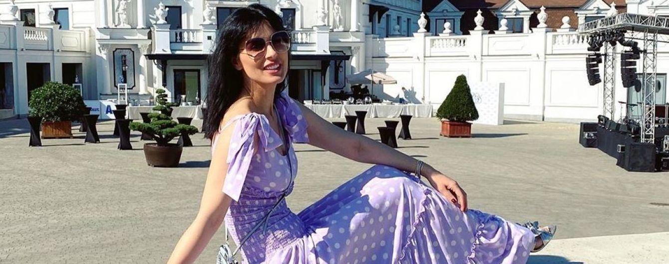 У гороховій сукні та капелюсі: Маша Єфросиніна показала знімки з вікенду у Львові