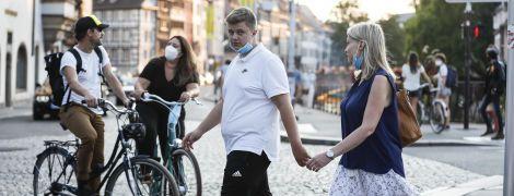 У Франції зафіксували рекордно високий ріст зараження коронавірусом