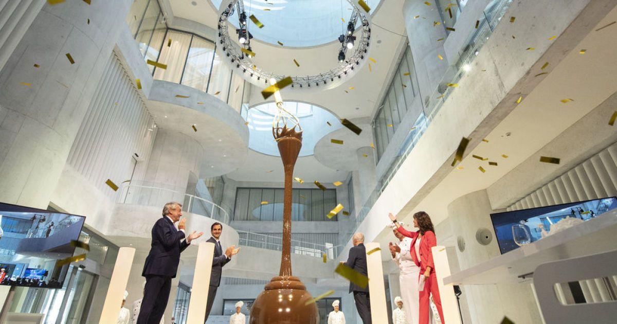 В Швейцарії відкрився найбільший у світі музей шоколаду
