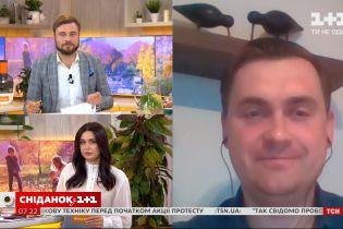Громадський діяч Андрій Стрижак - про настрої в Білорусі, жіночий марш та зустріч із Путіним