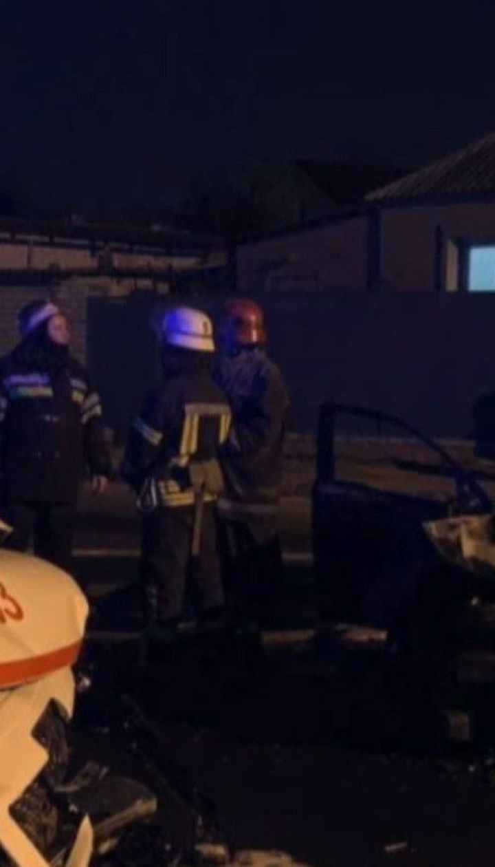 В Харькове легковушка вылетела на встречную полосу и протаранила машину скорой помощи
