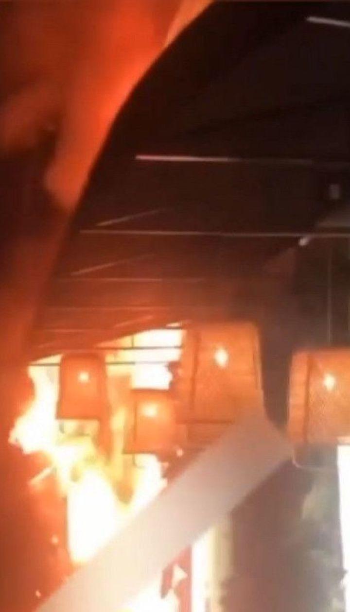 Ресторан в Черновцах чуть не сгорел через вытяжку