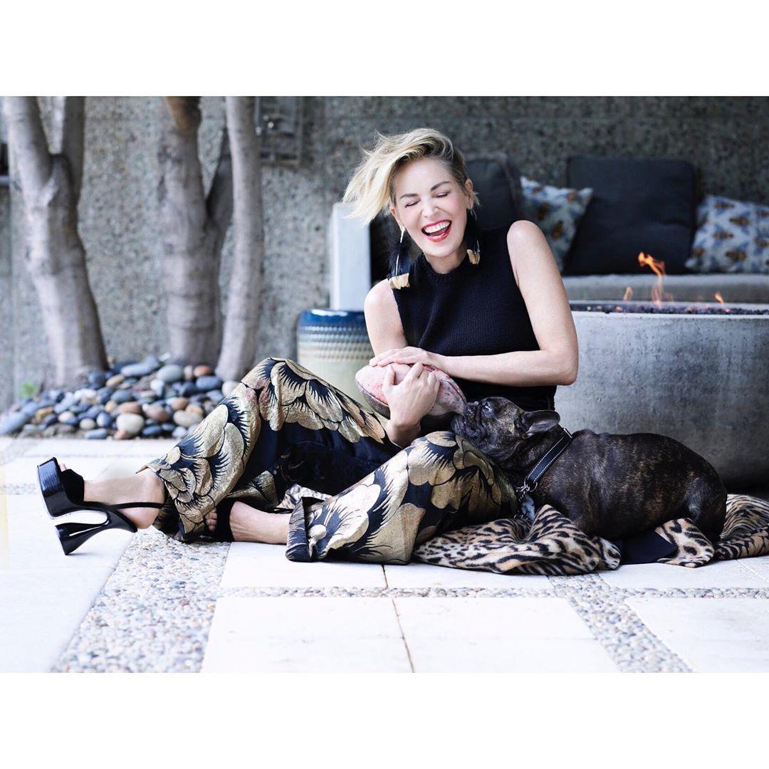 Шерон Стоун для The Telegraph Magazine_3
