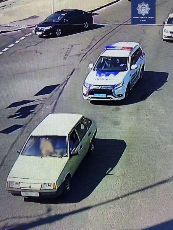 Автівка грабіжника