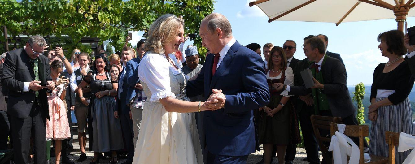 """""""Вже забув"""": Зеленський не тримає зла на колишню австрійську міністерку за танці з Путіним"""