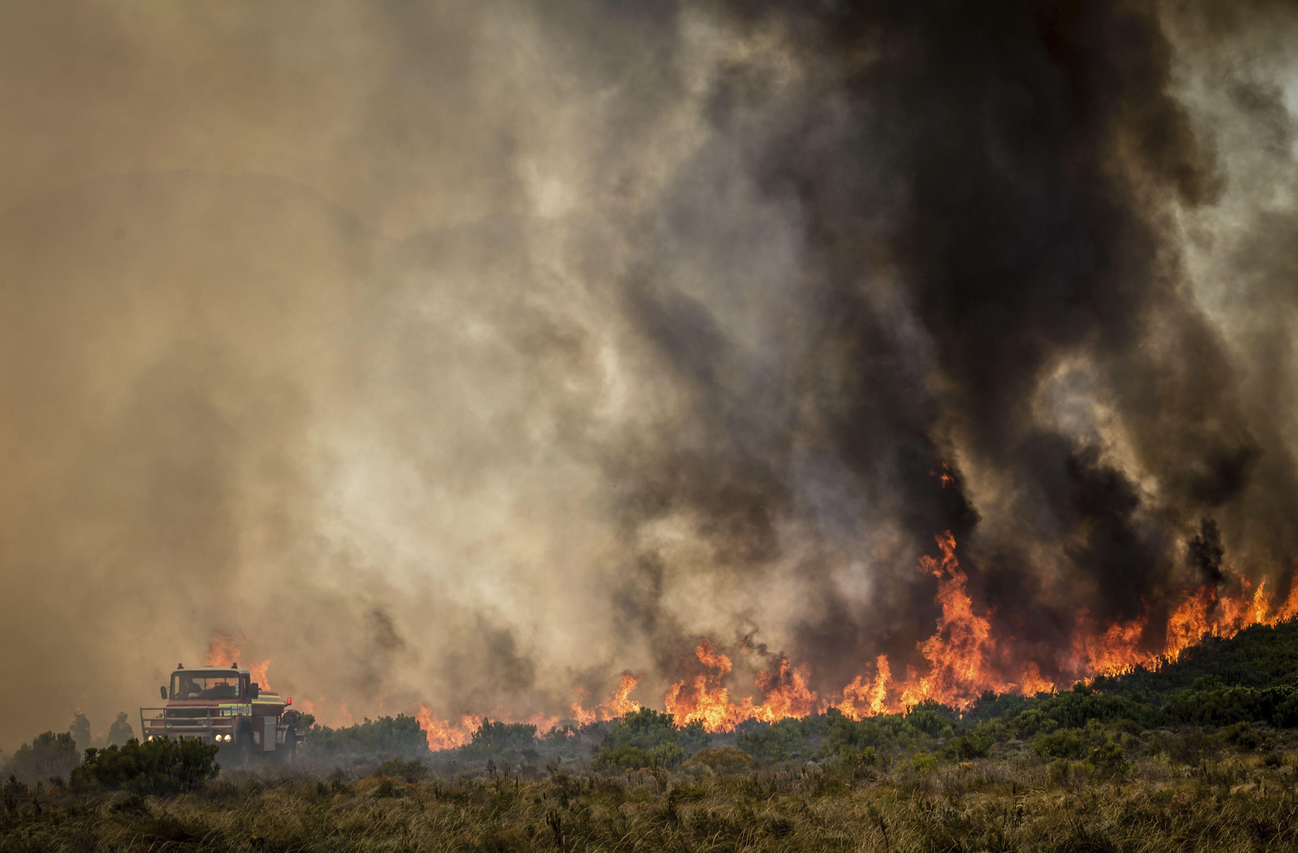 Південна Африка, пожежа