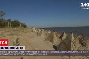 Ситуация на фронте: украинский боец подорвался на взрывчатке, а боевики возводят новые укрепления