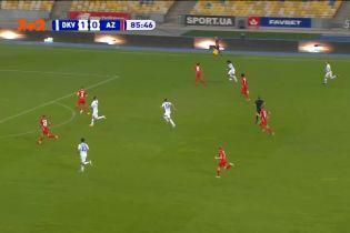 Динамо - А3 Алкмаар - 2:0. Видео гола Шапаренко