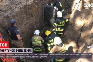 В Херсоне спасатели извлекли из-под земли мужчину, который пробыл там около 15 минут