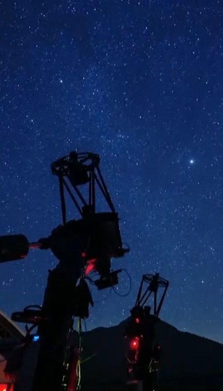 Итальянская долина с фантастическим звездным небом получила сертификат от ЮНЕСКО