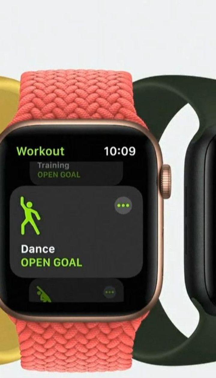 Компанія Apple презентувала розумний годинник, який здатен вимірювати рівень кисню у крові