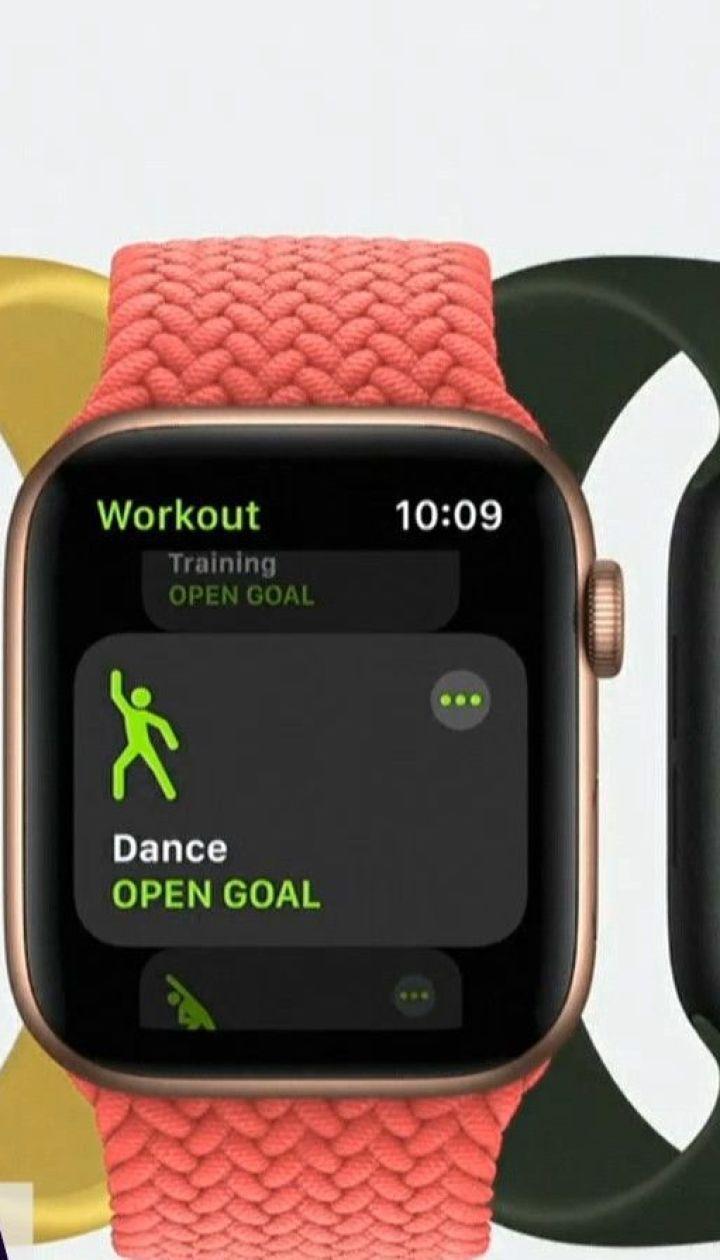 Компания Apple представила умные часы, способные измерять уровень кислорода в крови