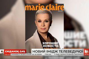 """Алла Мазур стала головною героїнею осіннього випуску """"Marie Claire"""" в Україні"""