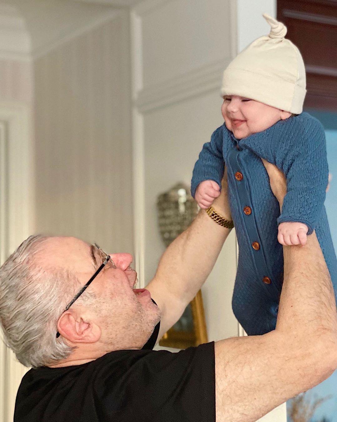 Євген Петросян з сином