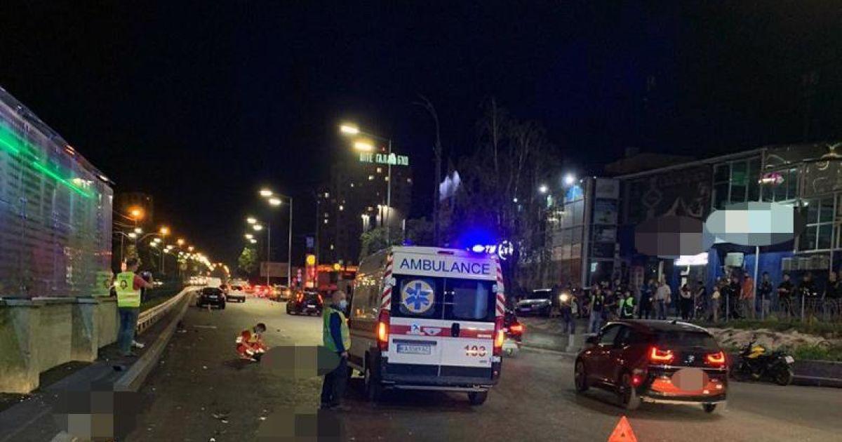 Полиция обнародовала подробности ДТП на проспекте Любомира Гузара в Киеве, где погибли три человека