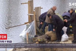 Жуткая находка: в Коростене из водоема извлекли пакет с телом связанного мужчины