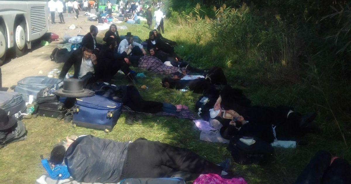 Пограничники заверили, что смогут противостоять в случае штурма границы хасидами