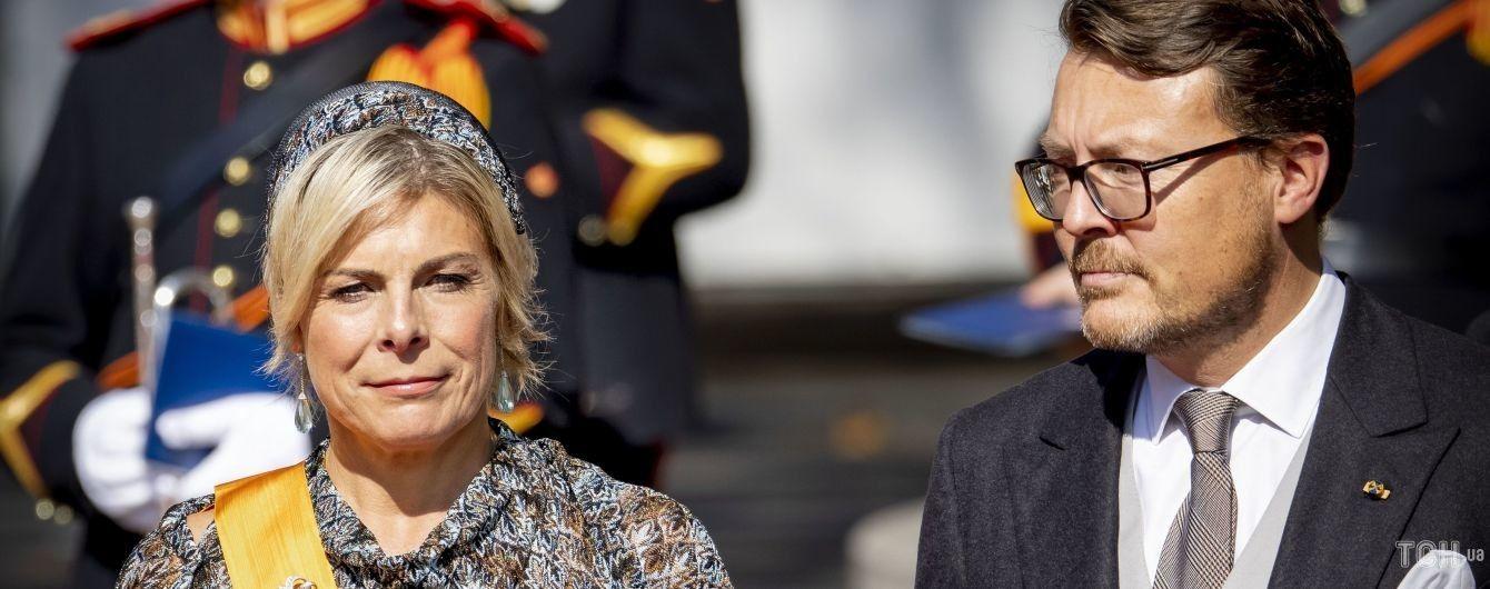 Королеву не затмила: принцесса Лаурентин в платье с бахромой на торжественном мероприятии