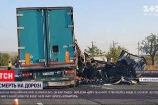 Смертельная авария: в Николаевской области ночью столкнулись две фуры