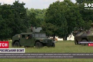 Загрозливий візит: до Мінська прилетів російський міністр оборони