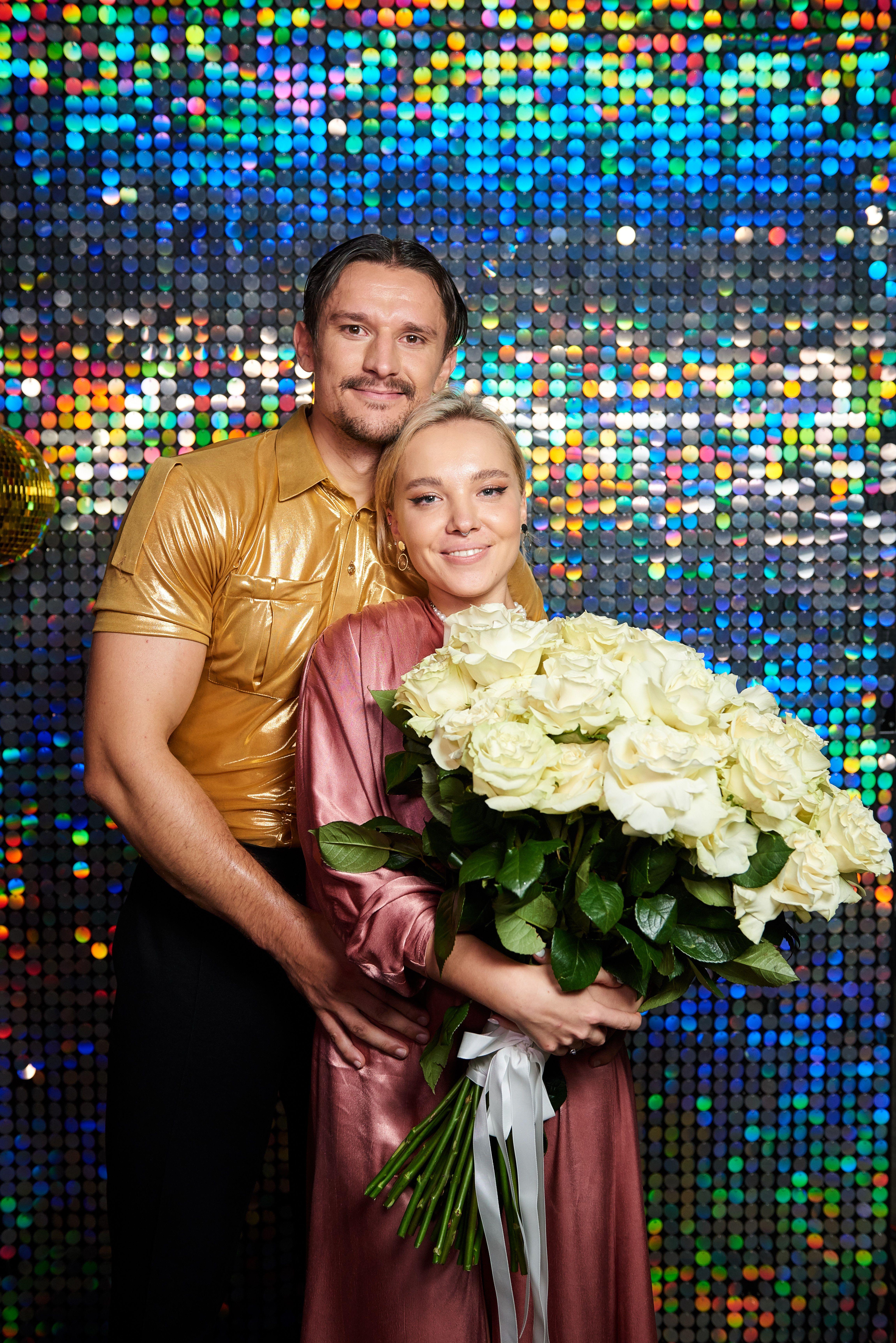 Тарас Цимбалюк з нареченою