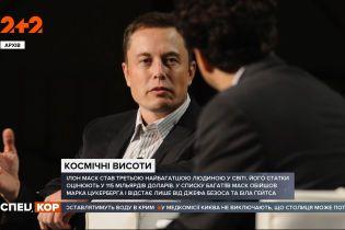Ілон Маск потрапив у трійку найбагатших людей світу